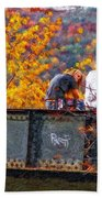 Stand By Me Impasto Beach Towel