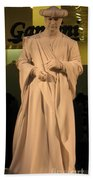 Living Statue Beach Towel