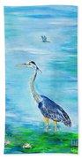 Standing Tall Beach Towel