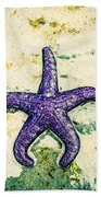 Star Bright Beach Towel