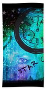 Star Child - Time To Go Home Beach Towel
