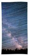 Star Dust Beach Towel