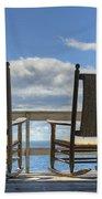 Star Island Rocking Chairs Beach Towel