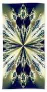 Star Jewel Fractal Beach Towel