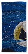 Star Sailing By Jrr Beach Towel