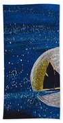 Star Sailing By Jrr Beach Towel by First Star Art
