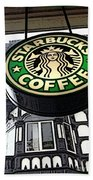 Starbucks Logo Beach Towel