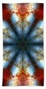Starburst Galaxy M82 IIi Beach Towel