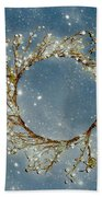 Stardust And Pearls Beach Towel