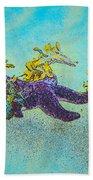 Starfish Paradise Beach Towel