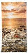 Starfish Sunset Beach Towel