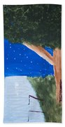 Starlight Fishing Beach Towel by Melissa Dawn