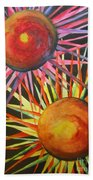 Stars With Colors Beach Towel