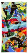 Wiping Out The Language Of Amalek 9dbh Beach Towel