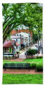 State House Grounds Beach Towel