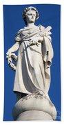 Statue Gettysburg Beach Towel