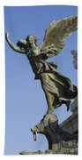 Statue On The Tomb Of The Unknown Soldier Beach Towel