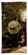 Steam Engine No. 300 Beach Towel by Robert Frederick