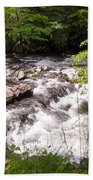 Steam In The Smoky Mountains Beach Towel