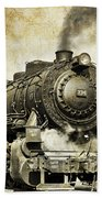 Steam Locomotive No. 334 Beach Towel