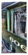 Steam Locomotive Norfolk And Western  No. 606 Beach Towel