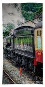 Steam Train 3802 Beach Towel