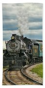 Steam Trains Tr3629-13 Beach Towel