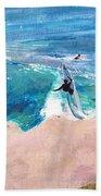 Steamer Lane Beach Towel