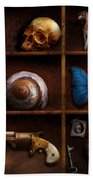 Steampunk - A Box Of Curiosities Beach Towel