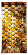 Steampunk - Apiary - The Hive Beach Towel