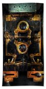Steampunk - Electrical - The Power Meter Beach Towel