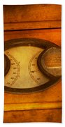 Steampunk - Electrician - The Portable Volt Meter Beach Towel