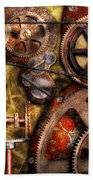 Steampunk - Gears - Inner Workings Beach Towel