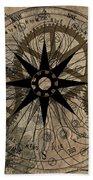 Steampunk Gold Gears II  Beach Towel