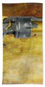 Steampunk - Gun - The Hand Cannon Beach Towel by Paul Ward