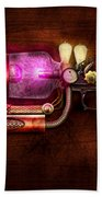 Steampunk - Gun -the Neuralizer Beach Towel by Mike Savad