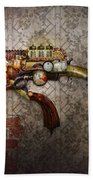 Steampunk - Gun - The Sidearm Beach Towel