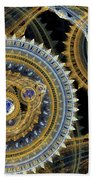 Steampunk Machine Beach Towel