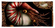 Steampunk - Nautilus - Coming Out Of Your Shell Beach Towel