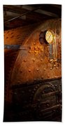 Steampunk - Plumbing - The Home Of A Stoker  Beach Towel