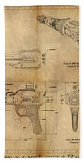 Steampunk Raygun Beach Towel