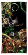 Steampunk - Surreal - Mind Games Beach Sheet