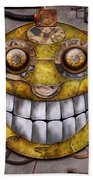 Steampunk - The Joy Of Technology Beach Towel