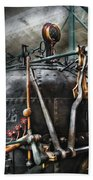 Steampunk - The Steam Engine Beach Towel