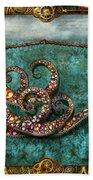 Steampunk - The Tale Of The Kraken Beach Towel