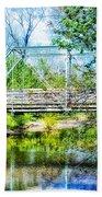 Steel Span Bridge Gettysburg Beach Towel