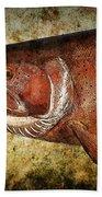 Steelhead Trout Beach Towel