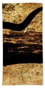 Steer Mount Beach Towel