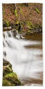 Step In The Scaleber Force Waterfall Beach Towel