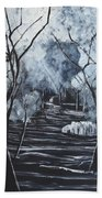 Step Into The Woods Beach Towel